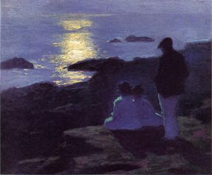 Edward Henry Potthast - a summer-s ナイト