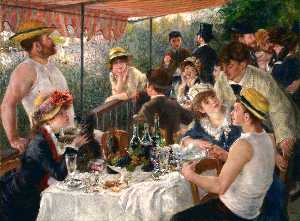 Pierre-Auguste Renoir - ボートパーティー ランチ