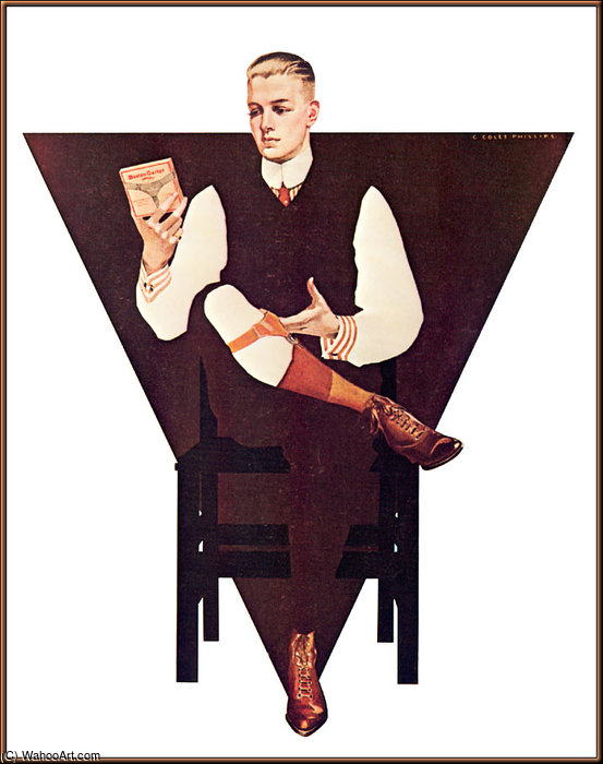 無題(268) バイ Coles Phillips (1880-1927, United States)