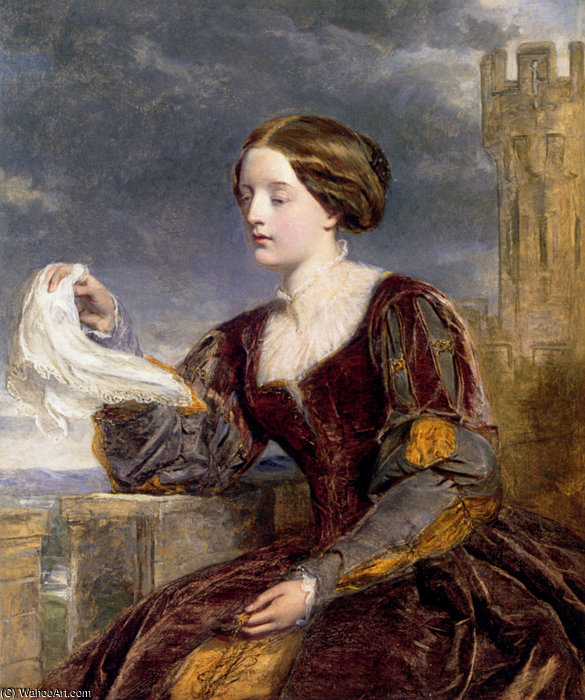 信号 バイ William Powell Frith (1819-1909, United Kingdom)