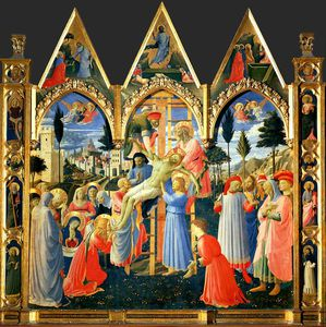 Fra Angelico - 下降 から クロス , ca