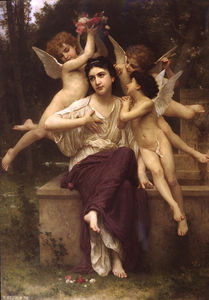 William Adolphe Bouguereau - A 夢見ます 春