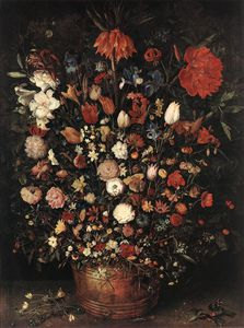 Jan Brueghel The Elder - 素晴らしい 花束