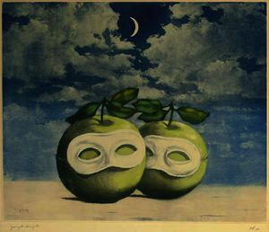 Rene Magritte - ワルツ 日食