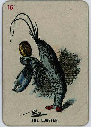ザー ロブスター バイ John Tenniel (1820-1914, United Kingdom)