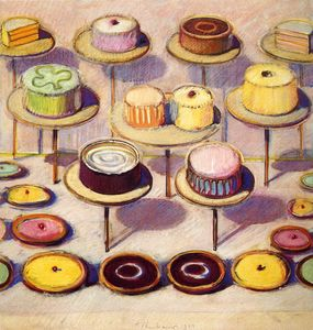 Wayne Thiebaud - 無題(219)