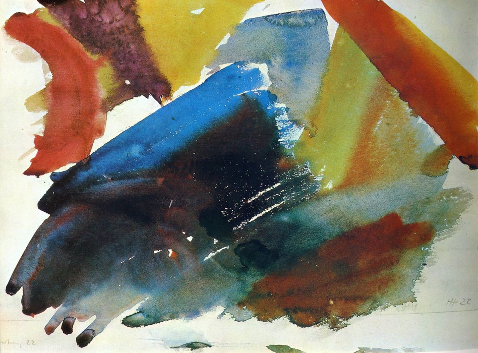 無題(352) バイ Hans Heinrich Hartung (1904-1989, Germany) | 絵画の複製 | WahooArt.com