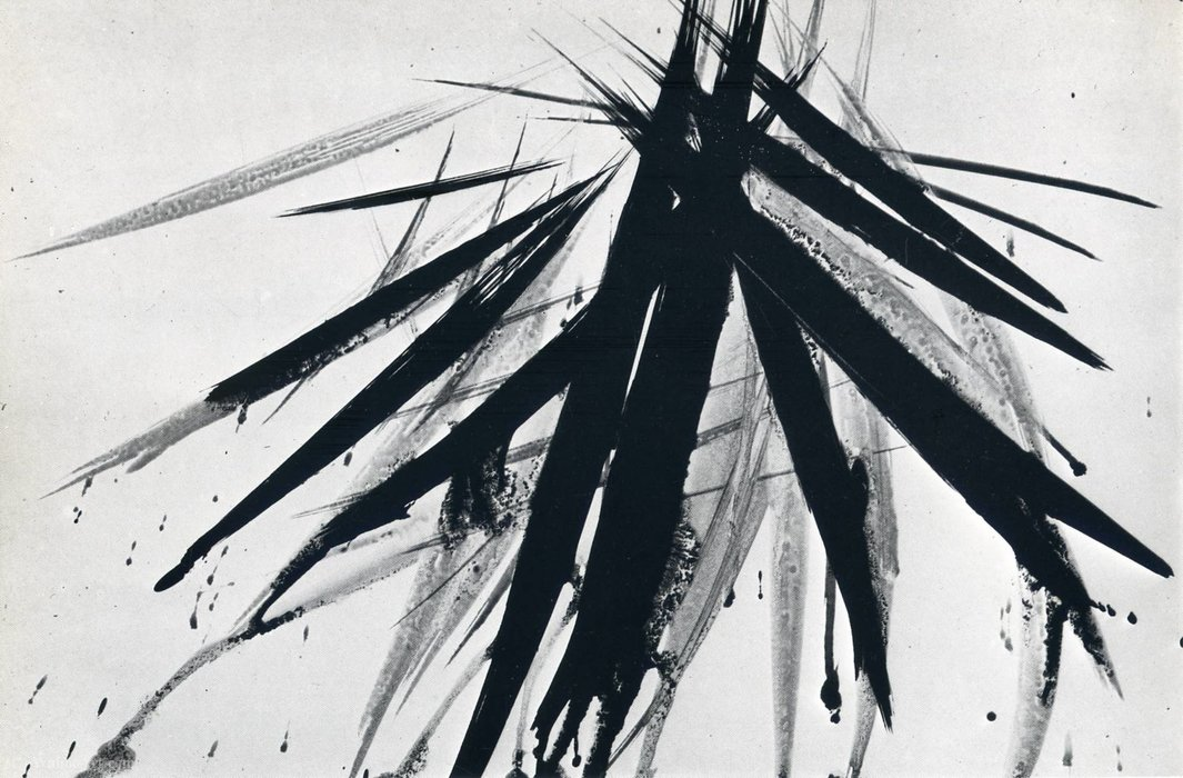 無題(656) バイ Hans Heinrich Hartung (1904-1989, Germany)