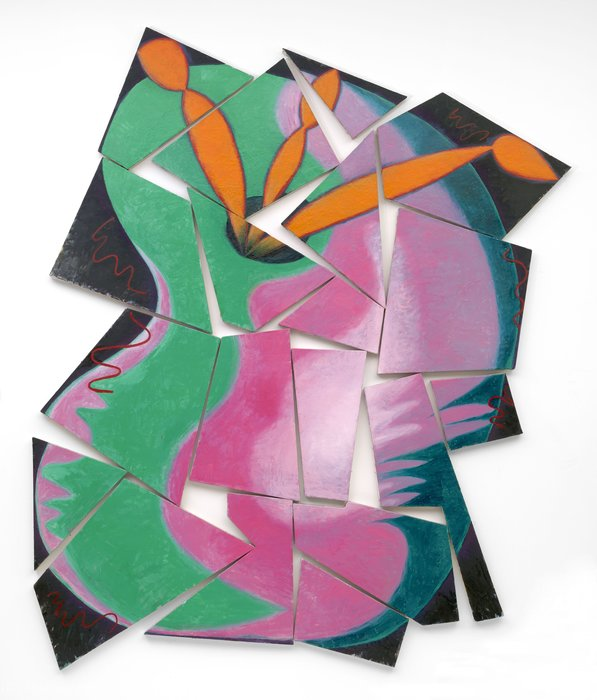 画家の進捗状況 バイ Elizabeth Murray (1940-2007, United States)