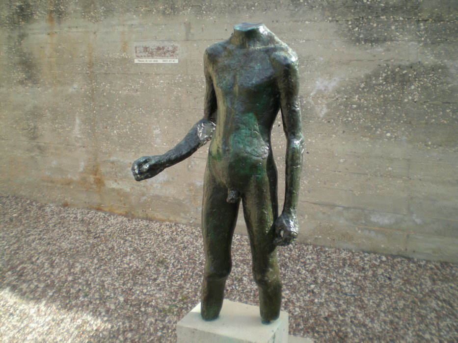 若者のトルソー、(1934) バイ Germaine Richier (1902-1959) |  | WahooArt.com