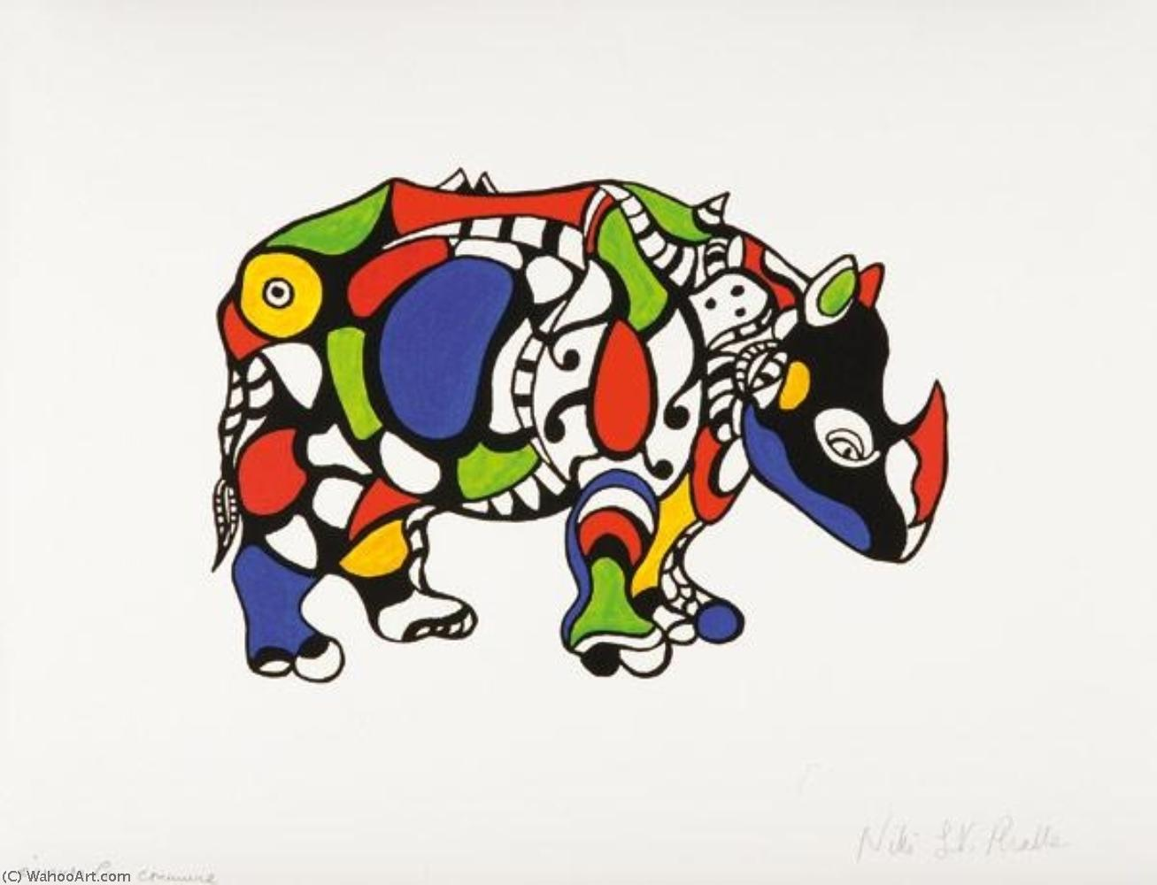 サイ バイ Niki De Saint Phalle (1930-2002, France)