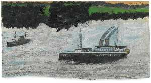 Alfred Wallis - スチーム ボート