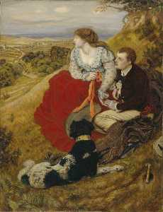 Ford Madox Brown - Byron's 夢
