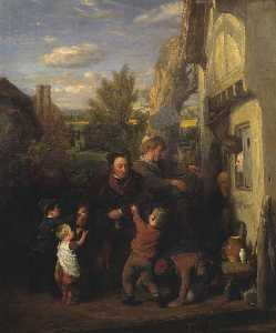 William Mulready The Younger - フェア 時間 ( -Returning から エール House- )