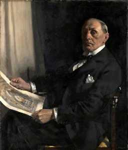 William Newenham Montague Orpen - サー・ウォルター タッパー ( 1861–1935 ) , RAは , PRIBA