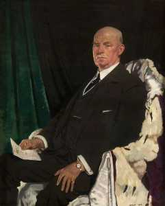 William Newenham Montague Orpen - 卿 トーマス パクストン ( 1860–1930 ) , 主君 学長 の グラスゴー ( 1920–1923 )