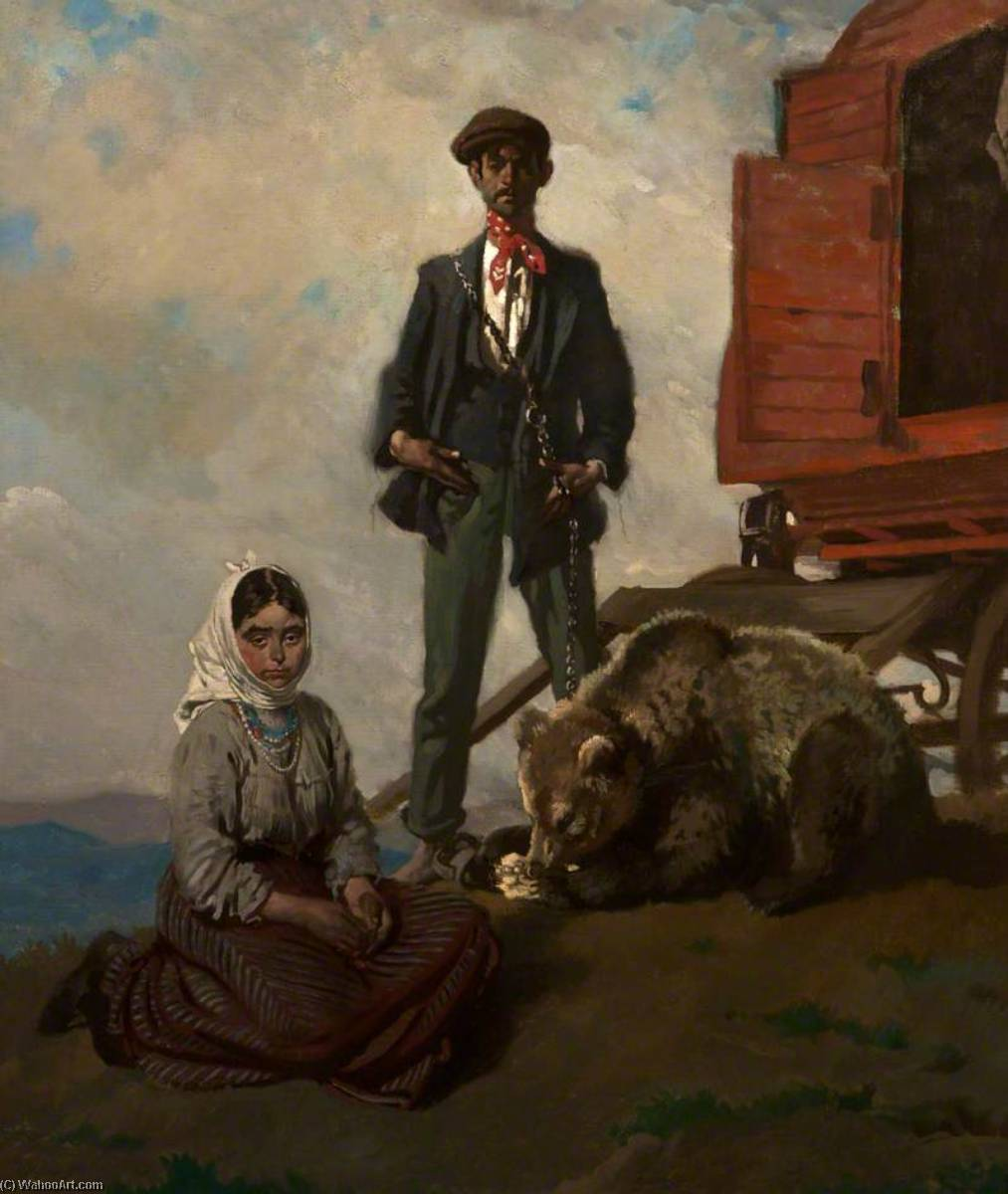 教会に ダブリン  山地  バイ William Newenham Montague Orpen (1878-1931, Ireland) | WahooArt.com