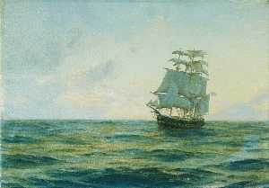 Thomas Jacques Somerscales - HMS 'Clio'