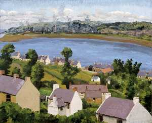 Cedric Lockwood Morris - Lougher から Penclawdd