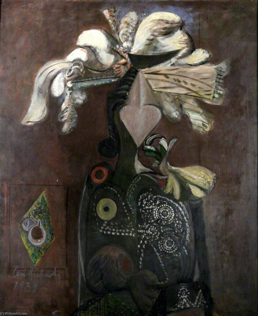 Costerwoman, 1939 バイ Ceri Giraldus Richards (1903-1971, United States) | 入りジクレー | WahooArt.com