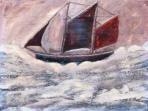 Alfred Wallis - ボート