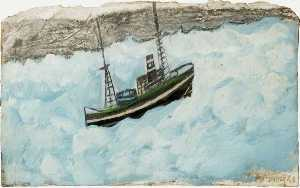 Alfred Wallis - 釣り ボート