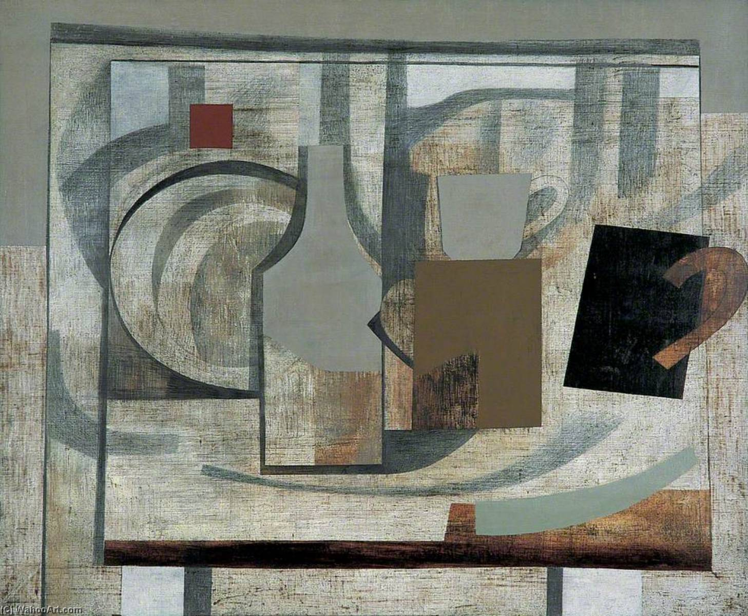1932–40  まだ  人生 , ペン バイ Ben Nicholson (1894-1982, United Kingdom)