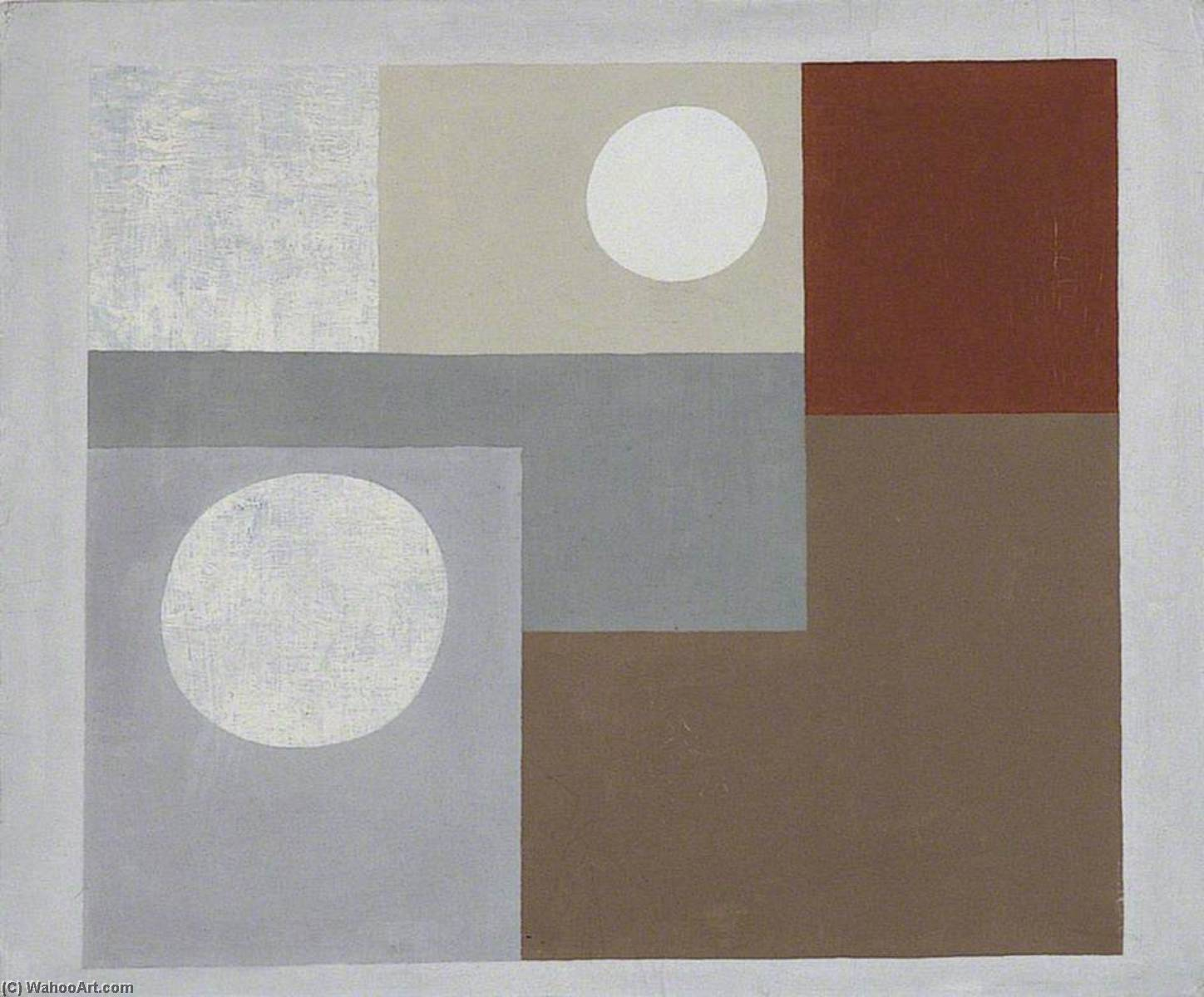 1934  絵画 , 原油 バイ Ben Nicholson (1894-1982, United Kingdom)