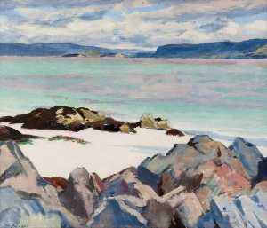Francis Campbell Boileau Cadell - 湖 ナ Keal