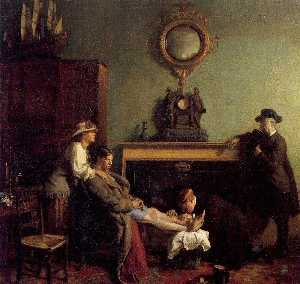 William Newenham Montague Orpen - A ほんの 骨折