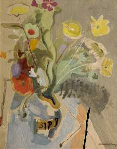 Ivon Hitchens - 春の花