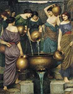 John William Waterhouse - ダナイデス