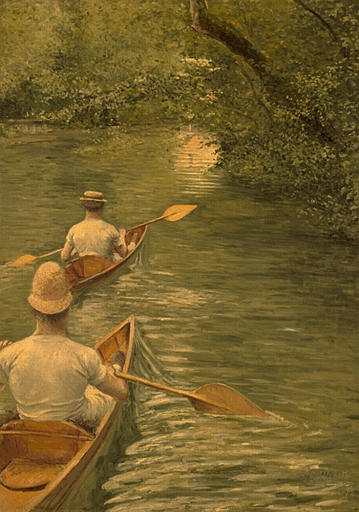 PERISSOIRES バイ Gustave Caillebotte (1848-1894, France) | WahooArt.com