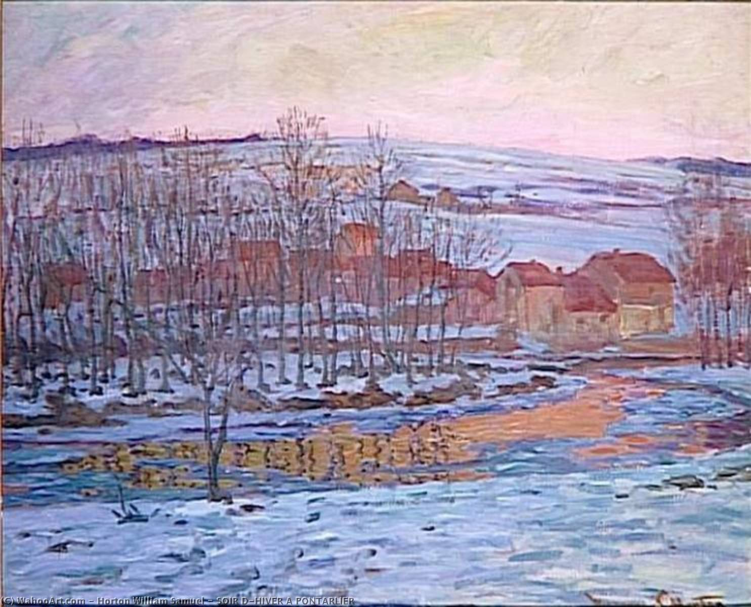 ソワール D'HIVER A ポンタルリエ バイ William Samuel Horton (1865-1936, United States) | WahooArt.com
