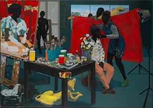 Kerry James Marshall - 無題 スタジオ
