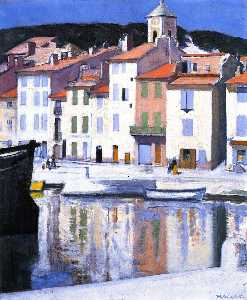 Francis Campbell Boileau Cadell - 港、カシス